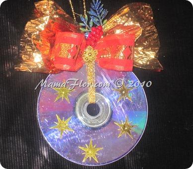 Convierte un CD o DVD en un Adorno Navideo