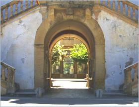 Sizilien - Santa Flavia - Blick in den großen Garten der Villa Filangeri