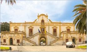 Sizilien - Santa Flavia - Die Villa Filangeri - Heute ist hier das Rathaus untergebracht