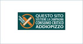 Sizilien - Palermo - Sticker der Antimafia-Initiative Addiopizzo