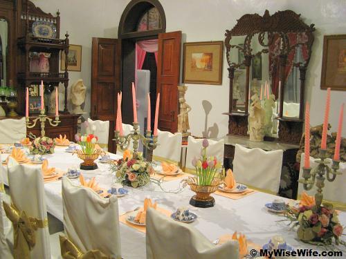 English dining