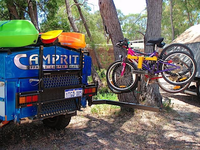 Book Of Camper Trailer Motorbike Rack In Us By William