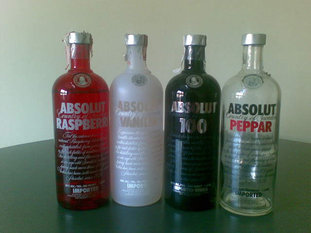 Absolut B&W & Red