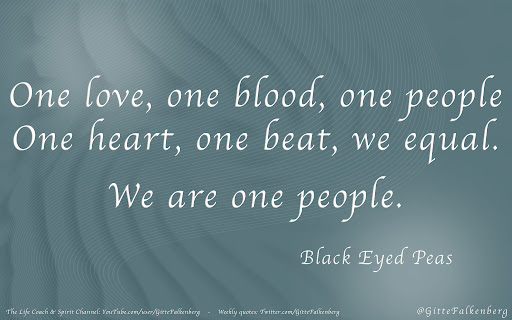 We are one people