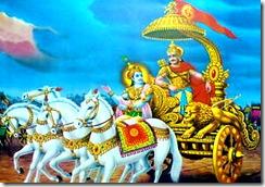 Scene of Bhagavad-gita