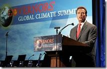 Arnold Schwarzenegger - global warming proponent
