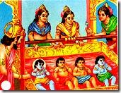 Dashratha and family