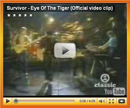我的賀歲歌:虎之眼 - Eye of the Tiger | Fafner's 遁世居