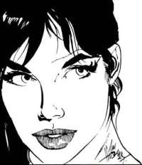 Modesty_Blaise by Jim Holdaway