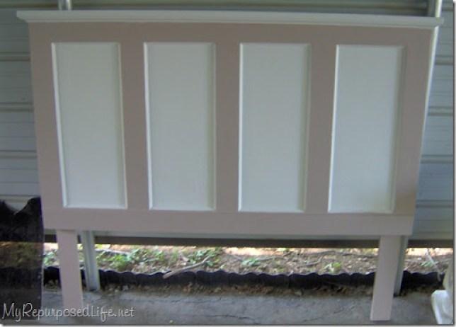 diy door headboard
