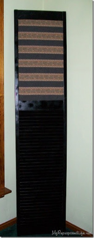 repurposed bi-folding door