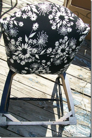upholster cane chair