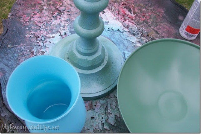 spray painting glass and more