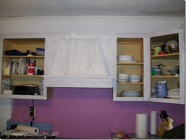 priming oak cabinets