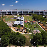 Photo of Discovery Green park in Houston Texas