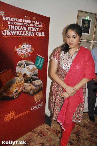 Ramya Krishnan at Gold Plus Nano car Launch