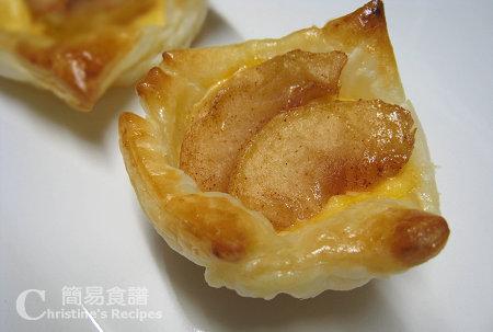 蘋果吉士酥皮【自由發揮甜品】Apple Custard Pastry | 簡易食譜 - 基絲汀: 中西各式家常菜譜