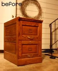 hootenanny: pretty 'new' filing cabinet