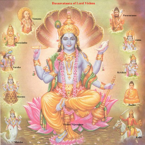Dashavatar - The Ten Incarnations of Lord Vishnu.