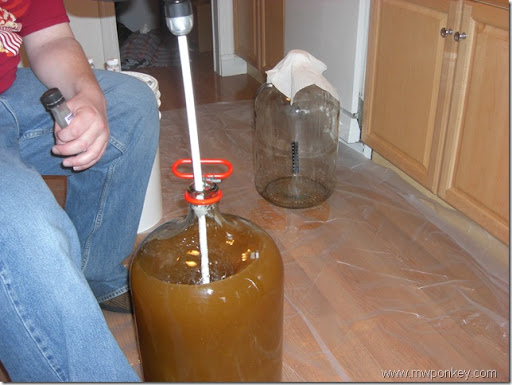 Mixing in the yeast