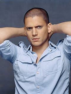 Wentworth Miller winter hairstyle 2011