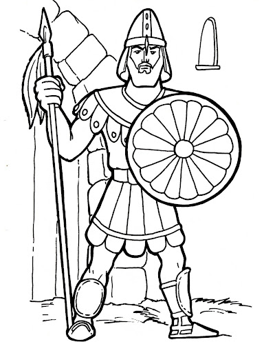 Gladiator Shield Coloring Pages Coloring Pages
