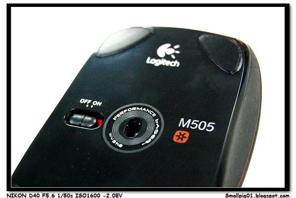 [開箱] 羅技 M505 2.4Ghz 雷射無線滑鼠   Smallpig01`s 玩物上誌!!
