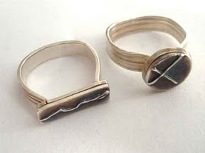 Two Double-Fire Rings.