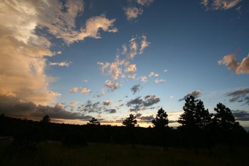 Steph found a nice sunset.