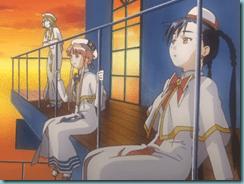 Alice, Akari, and Aika