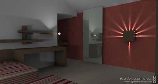 lampara juegos de luz