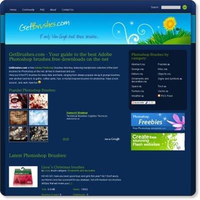 15個最佳 PHOTOSHOP免費筆刷下載網站 | 計算0123456789
