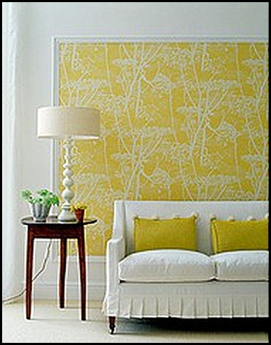 Framed Wall Paper