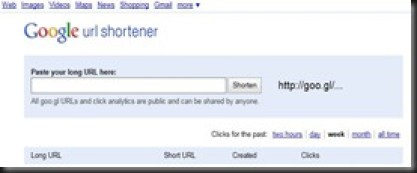 Google Alerts - googl_shortener