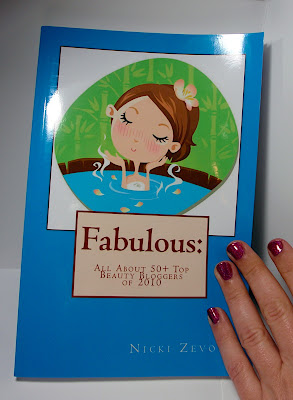 The Bionic Beauty blog featured in the book Fabulous - The Top Beauty Bloggers of 2010