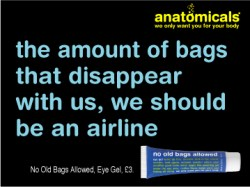 Humorous ad campaign by Anatomicals