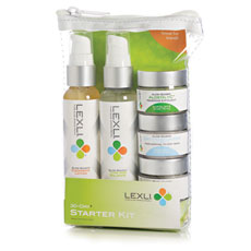 Free Lexli Skin Care starter kit with purchase