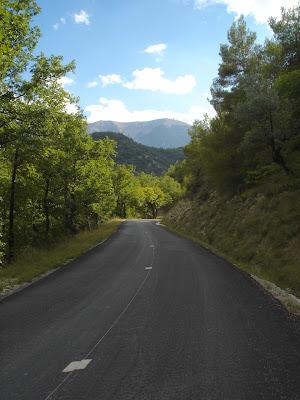 en route pour le plateau d'Albion