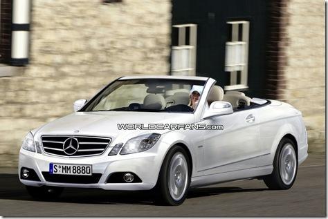 Mercedes Classe E Conversível 01