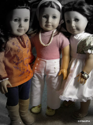 Baby, Emily, and Ruthie