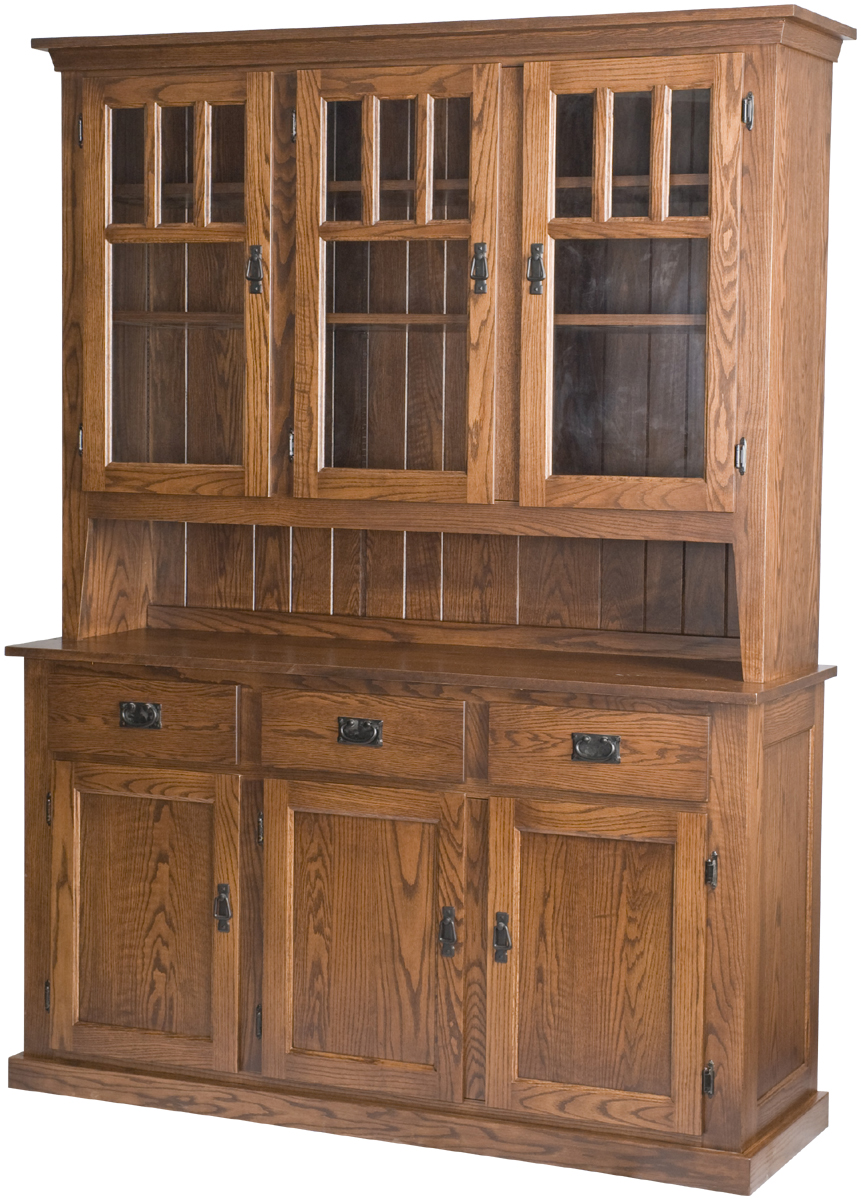 Mission China Cabinets  China Cabinet in the Mission Style