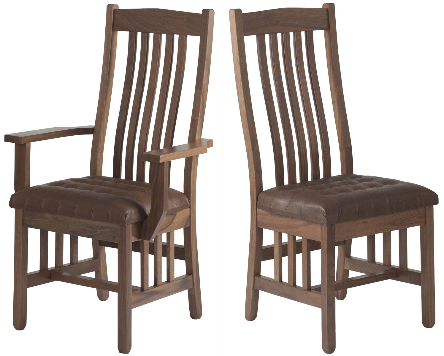 Mission Chairs Raised Mission Dining Chair Dining Room Chair In The