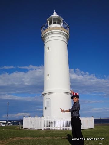 Kiama燈塔,照慣例戴個魔術帽拍一下