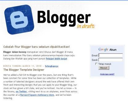 Draft Blogger