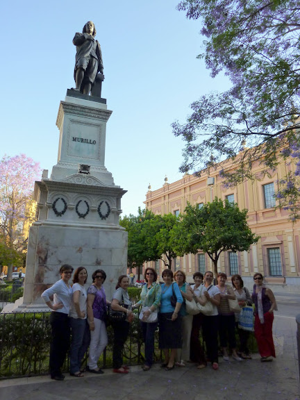 El hilo de Ariadna en la Plaza del Museo