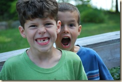 two lost teeth for two boys