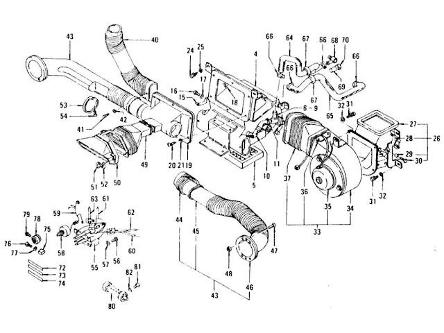 Datsun 240Z Car Heater (To Jul.-'73)
