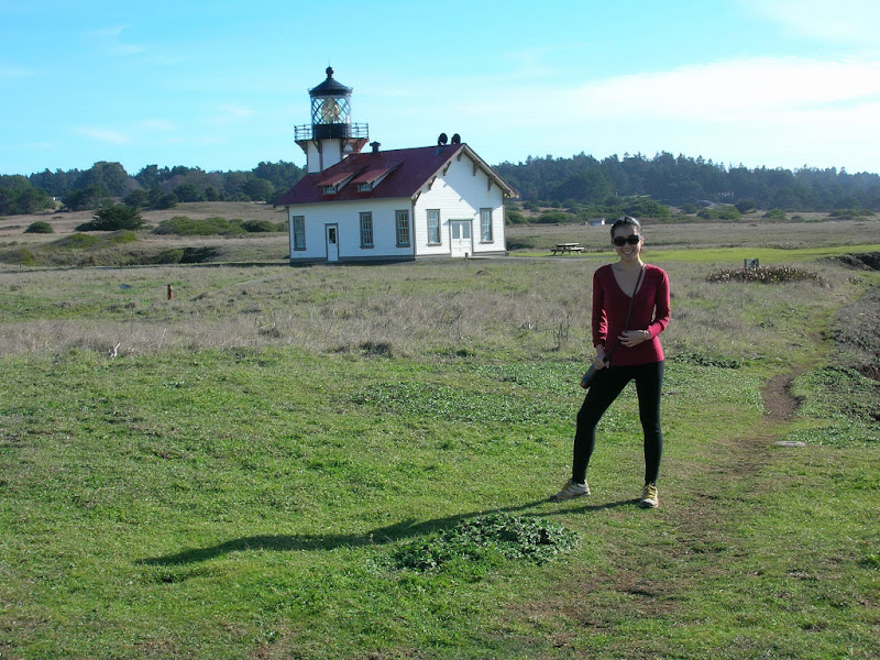Serena with the lighthouse