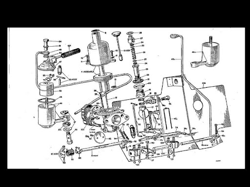 AUSTIN HEALY BUGEYE Bug Eye SPRITE Diagram PARTS MANUAL