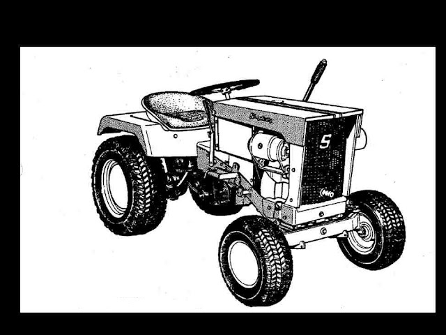 ALLIS CHALMERS B-112 SIMPLICITY 3012 TRACTOR MANUALs 75pg